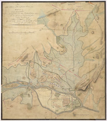 Plan of the Position of the Confederate Armies under the direction of Earl Cornwallis before Seringapatam from the 5th to the 24th February 1792 when the Cessation of Hostilities took place...